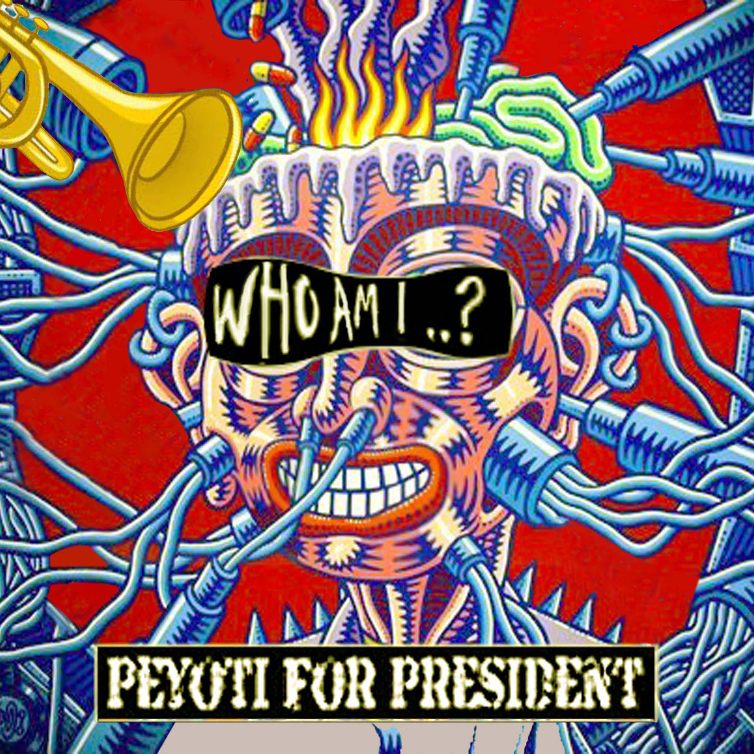 Who Am I EP cover artwork